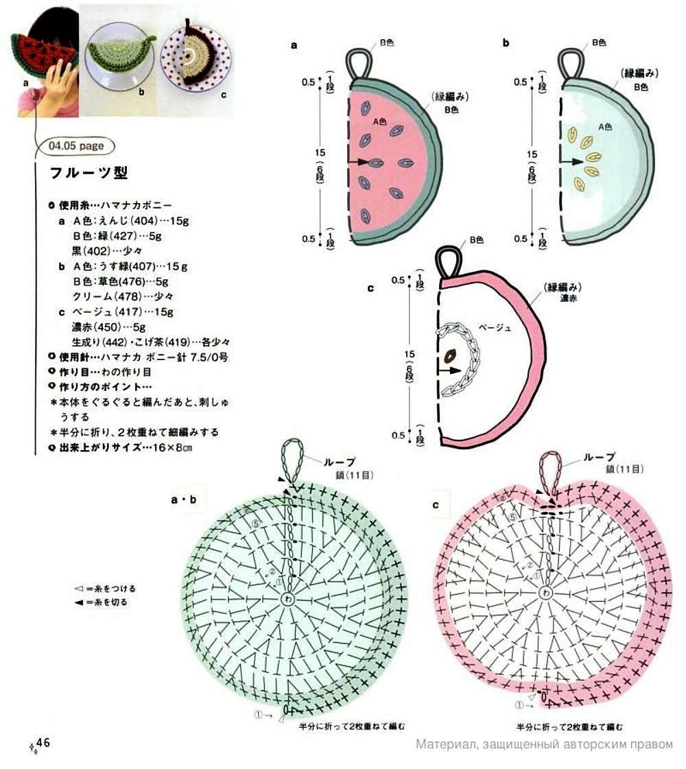 Patrones Crochet: Motivos Apliques Miscelania de Crochet   knit pic ...