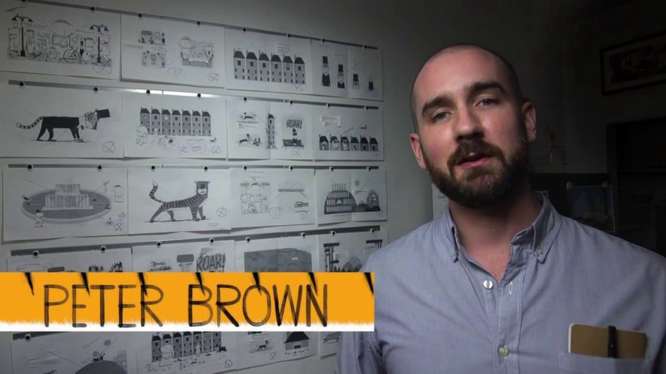 Author and Illustrator Peter Brown On His Process on Vimeo