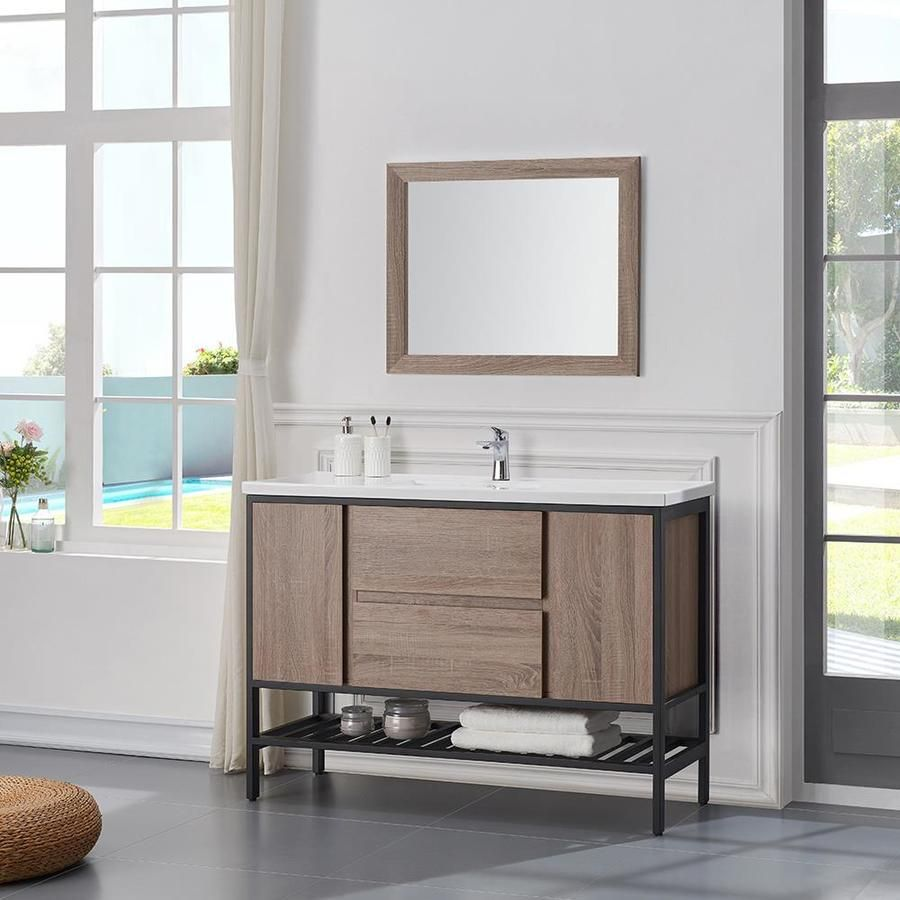 Product Image Bathrooms in Pinterest Single sink vanity