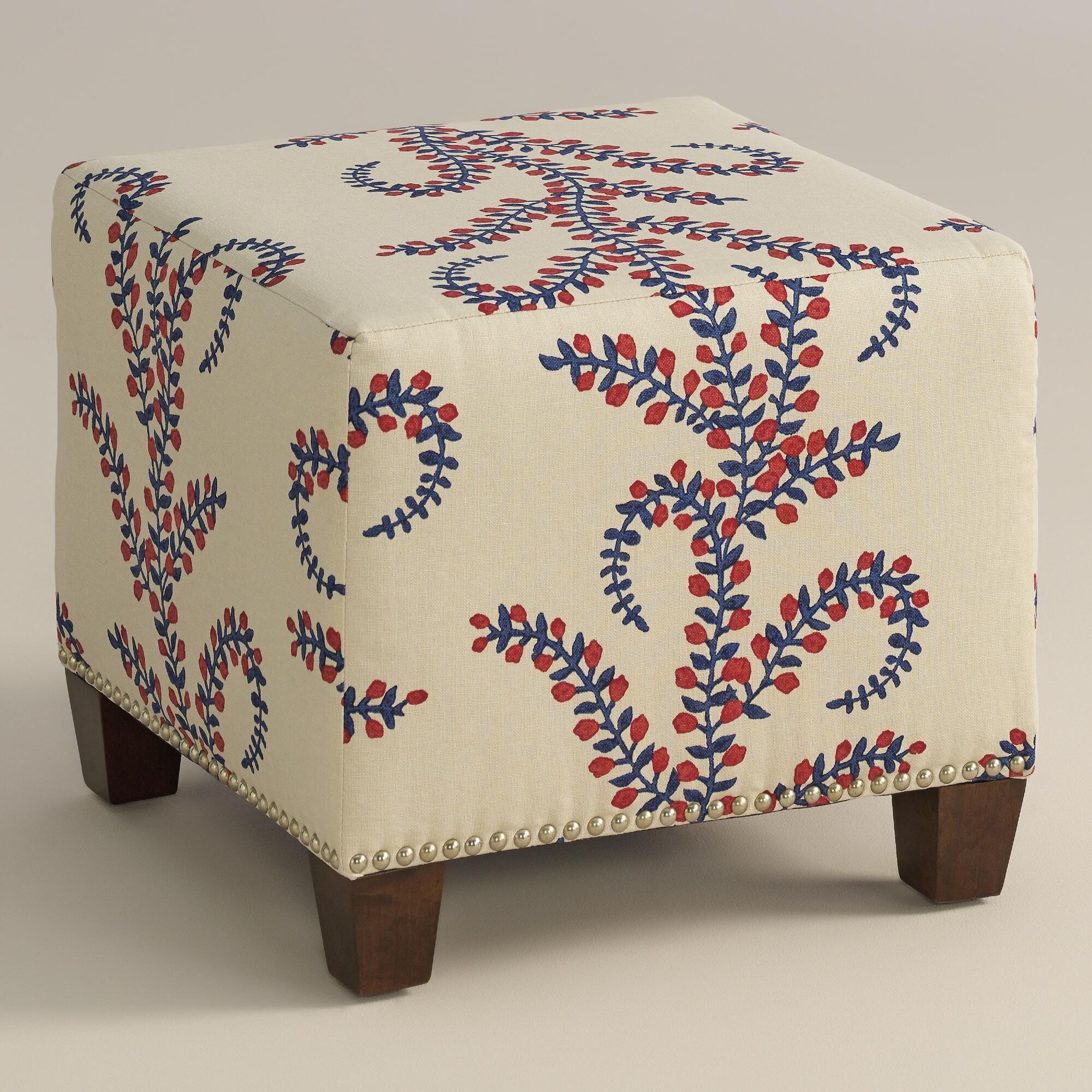 Prasana Mckenzie Ottoman Affordable Ottoman Affordable Chair Upholstered Ottoman