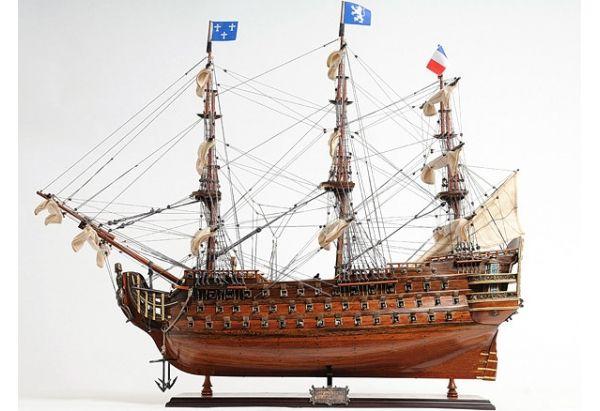 1700 S Royal Louis Tall Ship Gonautical Model Ships Wooden