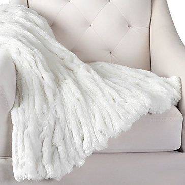 This Faux Fur Throw Would Look Great Draped On The End Of