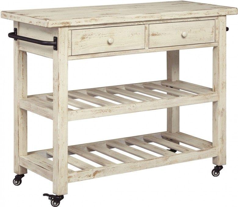 Marlijo White Kitchen Cart White Kitchen Cart Kitchen Design Small Kitchen Cart