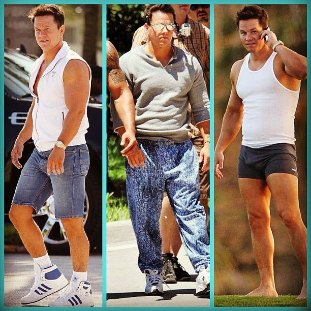 Jorts, acid wash jeans and underwear. Mark Wahlberg's new movie has some very interesting wardrobe choices.