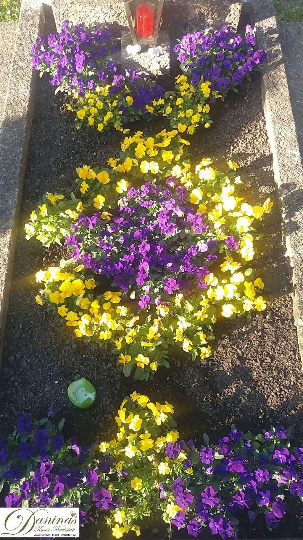 Grabgestaltung Frühling