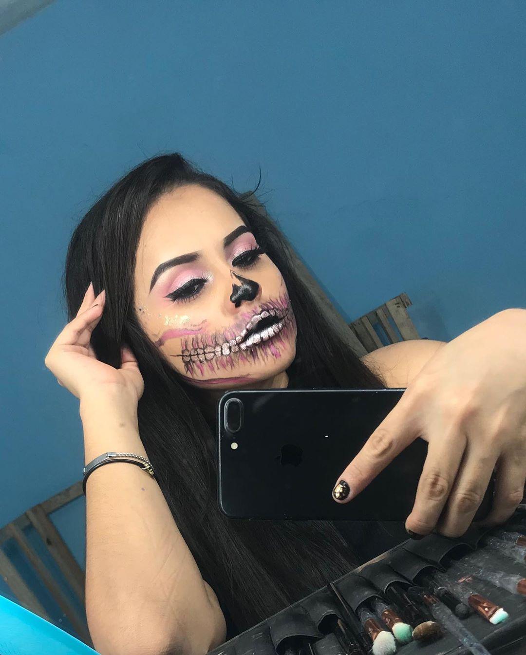 Halloween!! halloweenmakeup halloween makeup