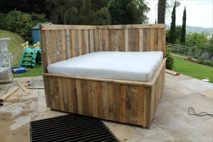 Bedroom Furniture Made Out Of Pallets diy pallet outdoor #sectional #sofa - 10 diy furniture made from