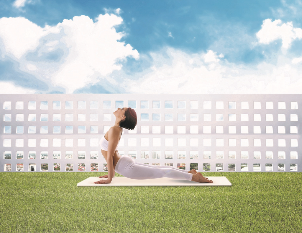 Sky Habitat Condo Singapore Outdoor Exercise Space Call Your