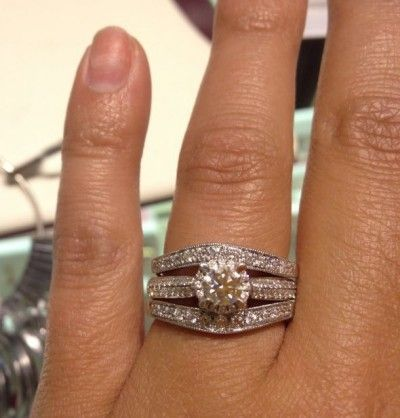 May I See You Wedding Sets With Two Bands 1 E Ring