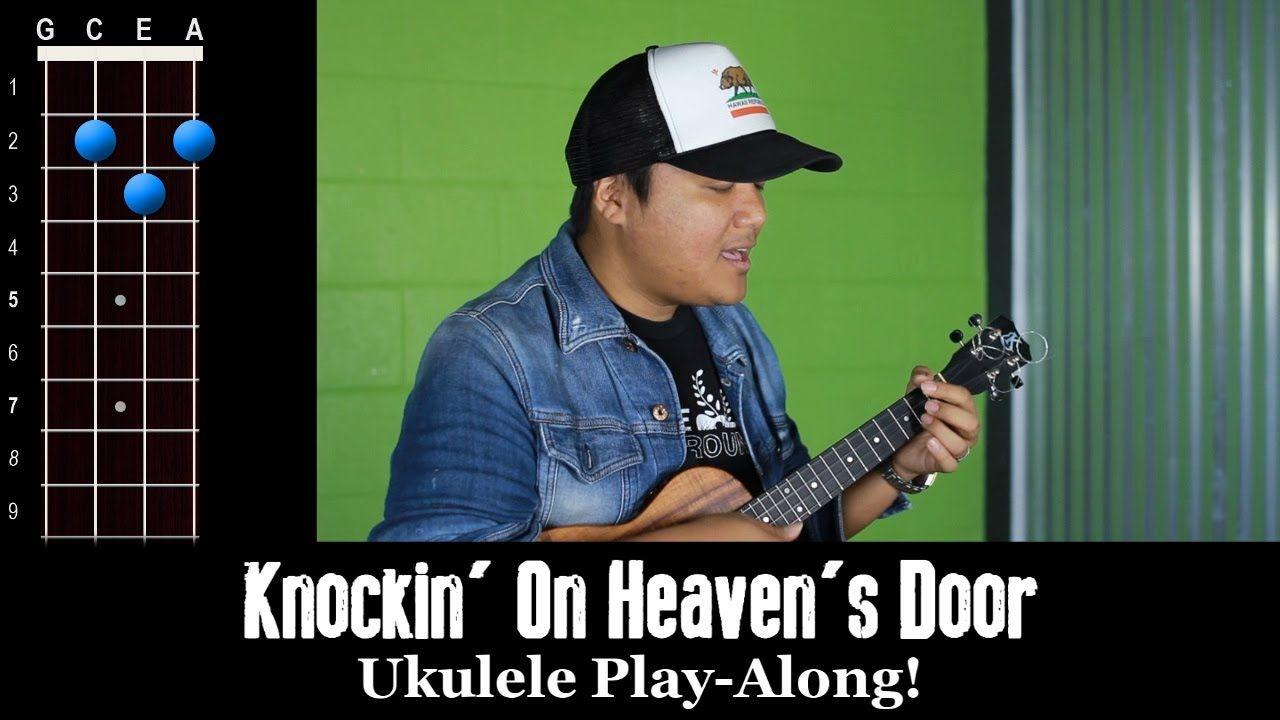 Knockin On Heavens Door Bob Dylan Ukulele Play Along Uke