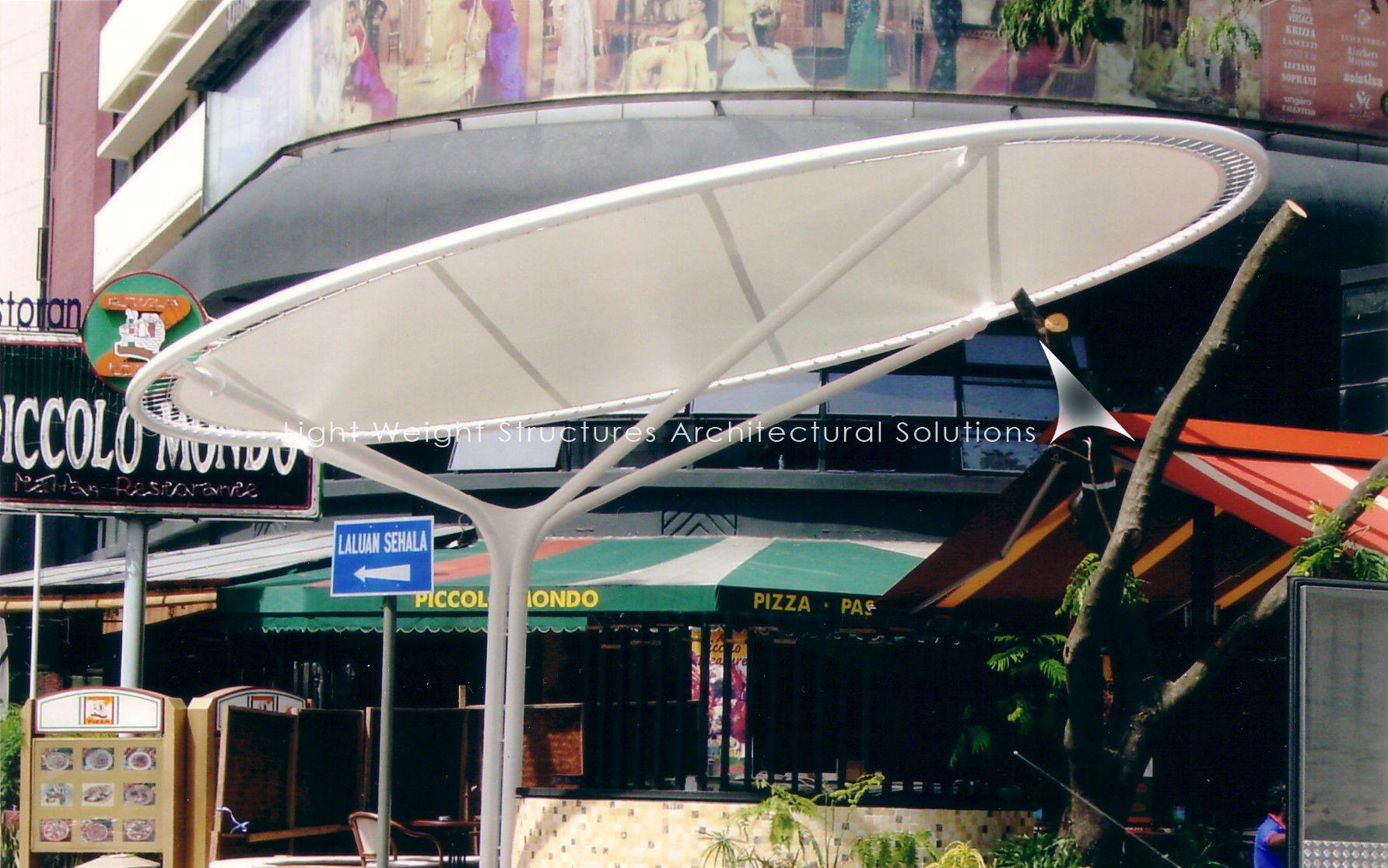 Circular Umbrella Structures Google Search Taj Mall