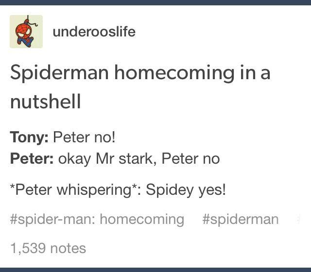 Yes #Spider-manHomecoming