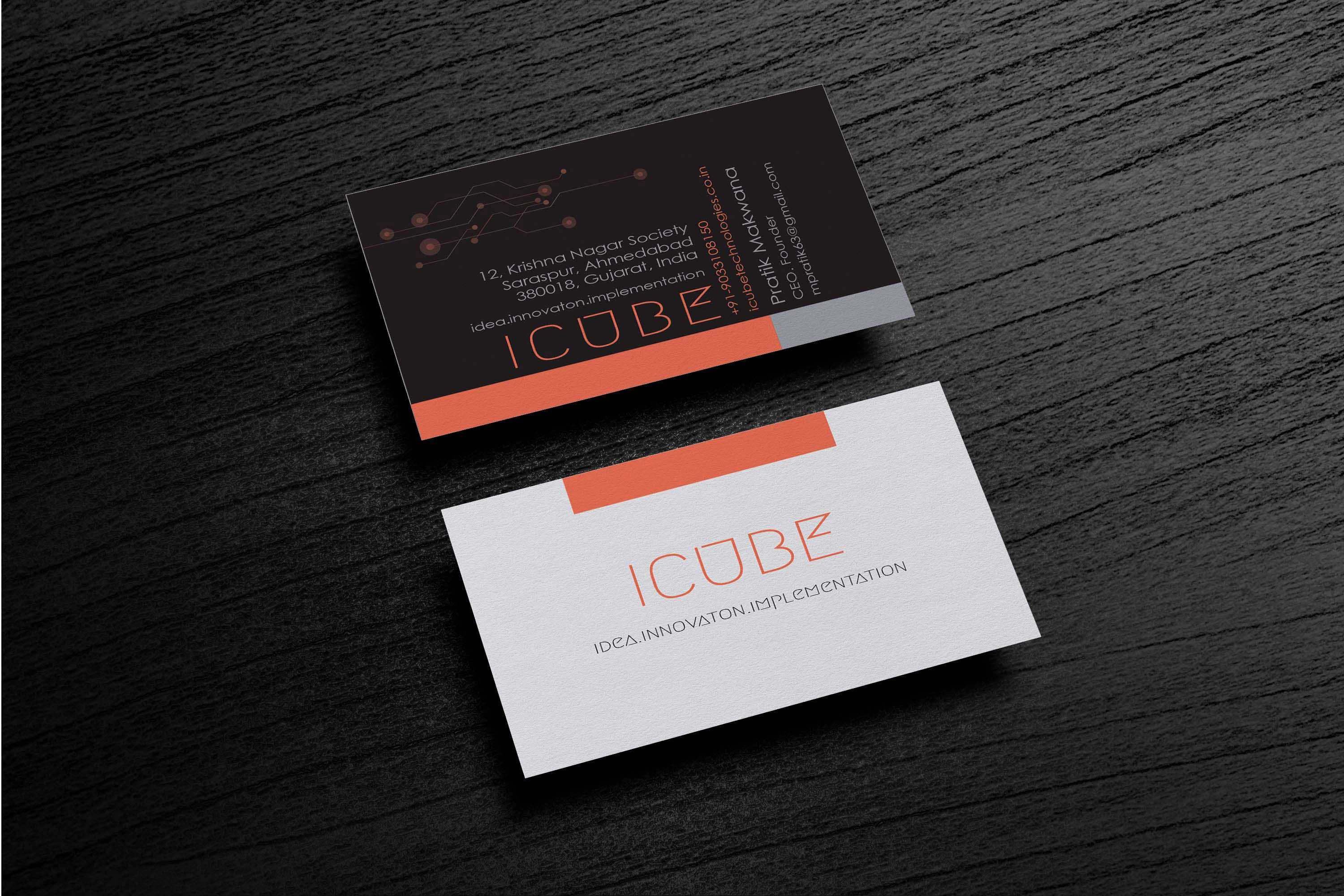 "Check out my @Behance project: ""Icube business card"" https://www ..."