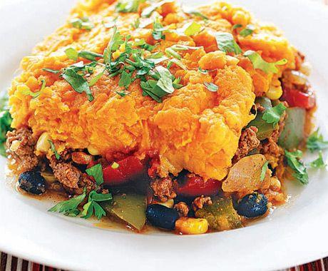 Southwestern Shepherd S Pie Recipe Mexican Food Recipes Food Recipes Beef Recipes
