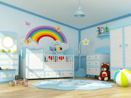 Color Schemes For Baby Boy Nursery