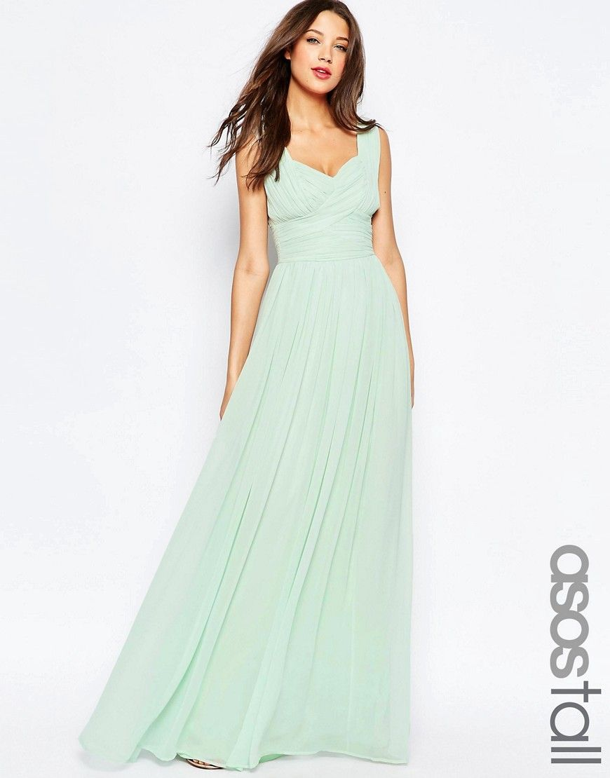 Asostallweddingruchedpanelmaxidress bridesmaid pinterest discover maxi dresses with asos shop the range of maxi dresses and long styles from bandeau to long sleeves asos has a maxi dress for every occasion ombrellifo Images