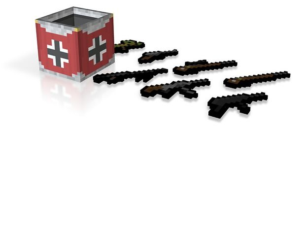 Flan's Mod German Guns and Weapon Box | gaming | Weapons, Guns, Flan