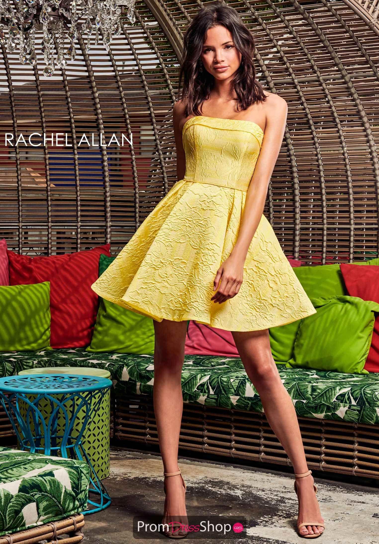 Rachel Allan Dress 4017 Promdressshop Com Rachel Allan Dresses Short A Line Dress Dresses [ 2191 x 1524 Pixel ]