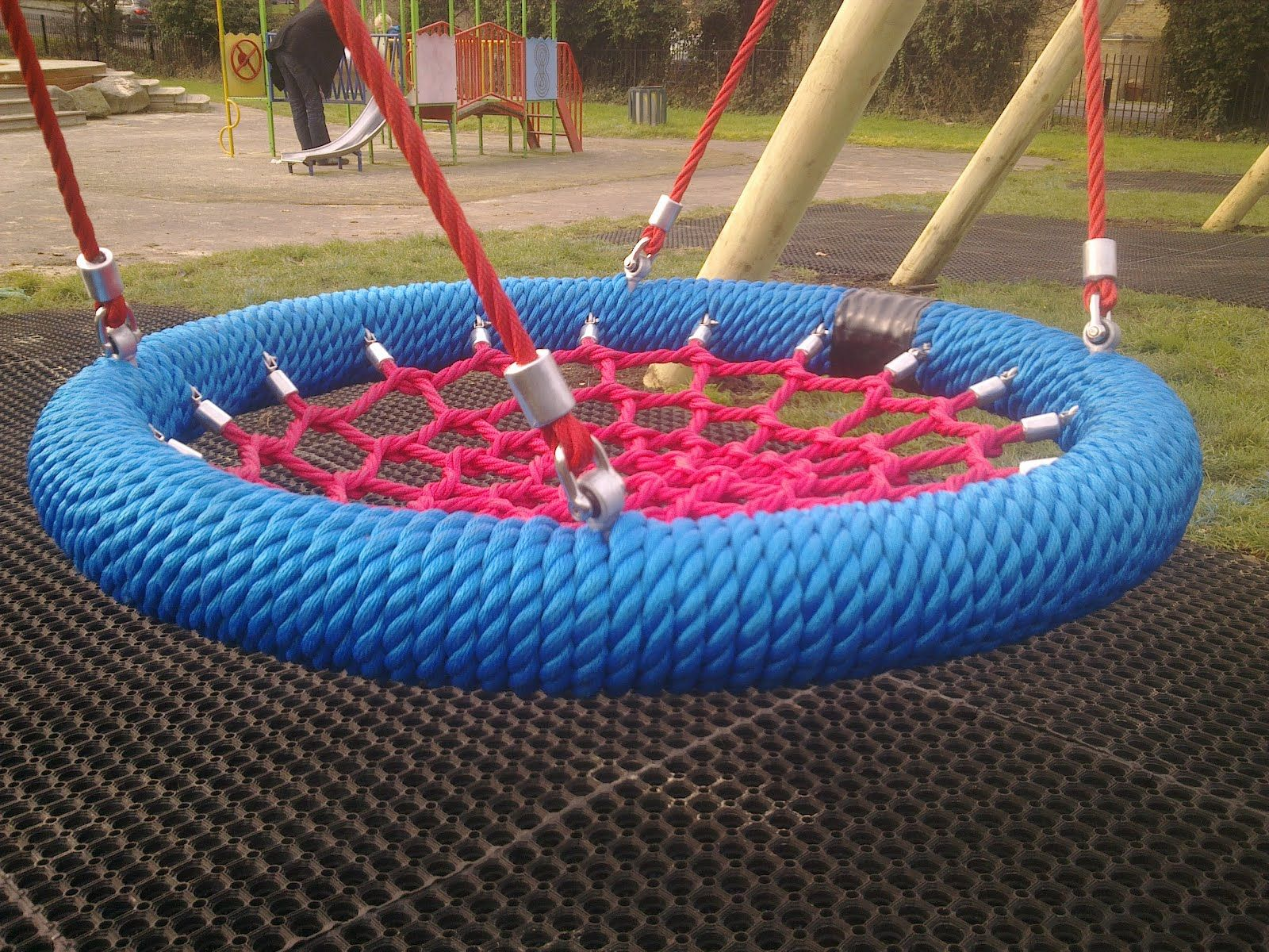 Colourful swing