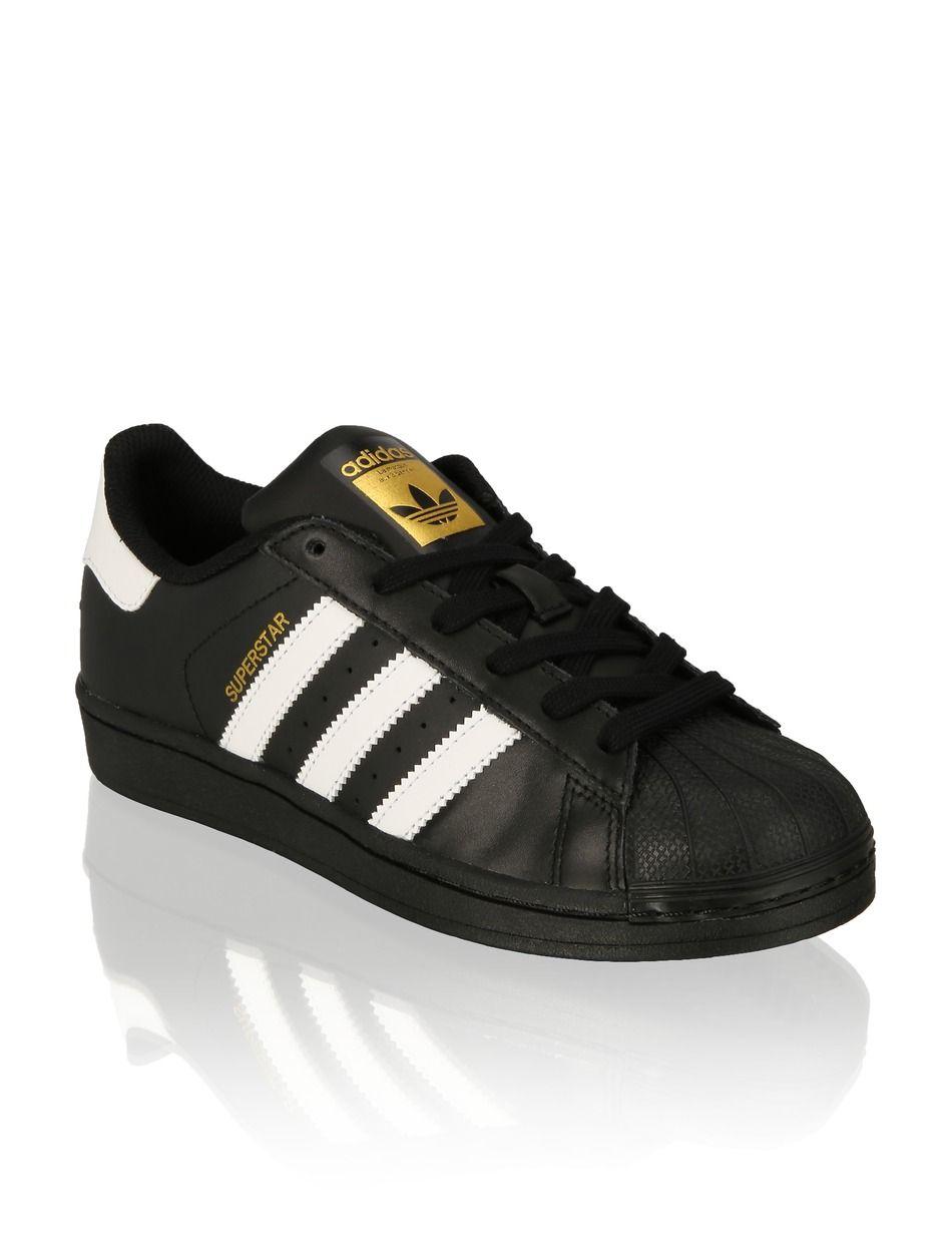 Adidas Originals Superstar Schwarz Humanic Net Schuhe Reiten