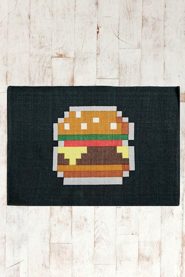 Burger 2x3 Rug