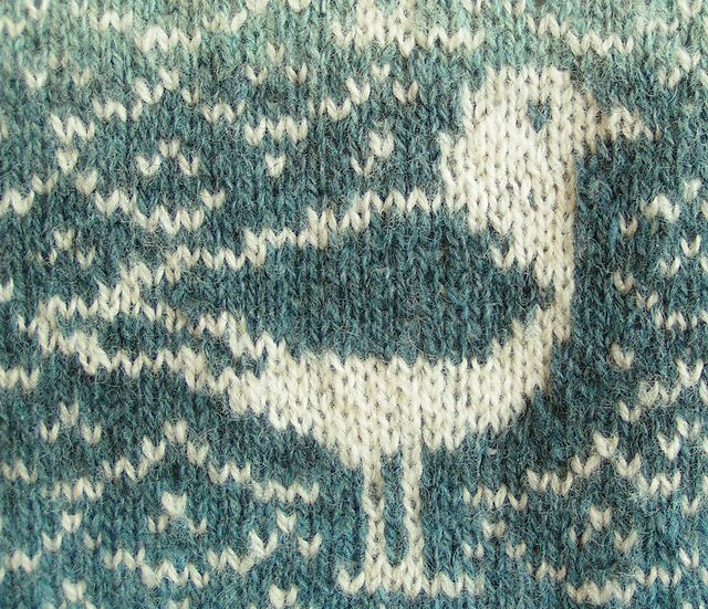 Seagull Pattern By Ruth Sorensen Fair Isle Knitting Patterns
