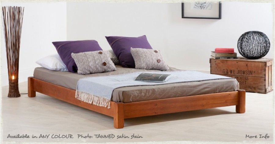 the low platform bed is a popular solution for smaller rooms and living spaces with sloping ceilings this low bed frame has a distinctly minimalist feel