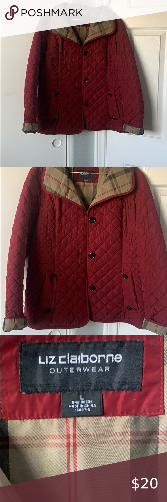 Nice Red Daily Jacket Clothes Design Cool Jackets Fashion Design [ 1740 x 580 Pixel ]