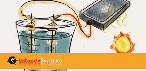Building a solar fuel generator.