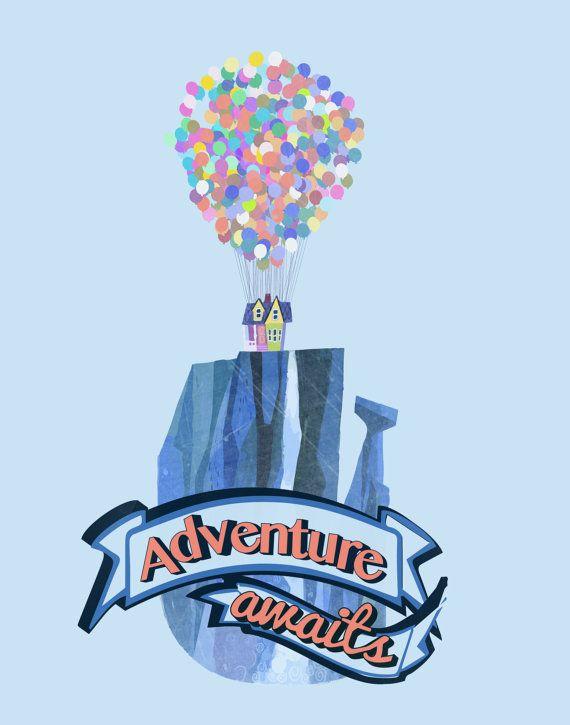 Ellie and carl adventure