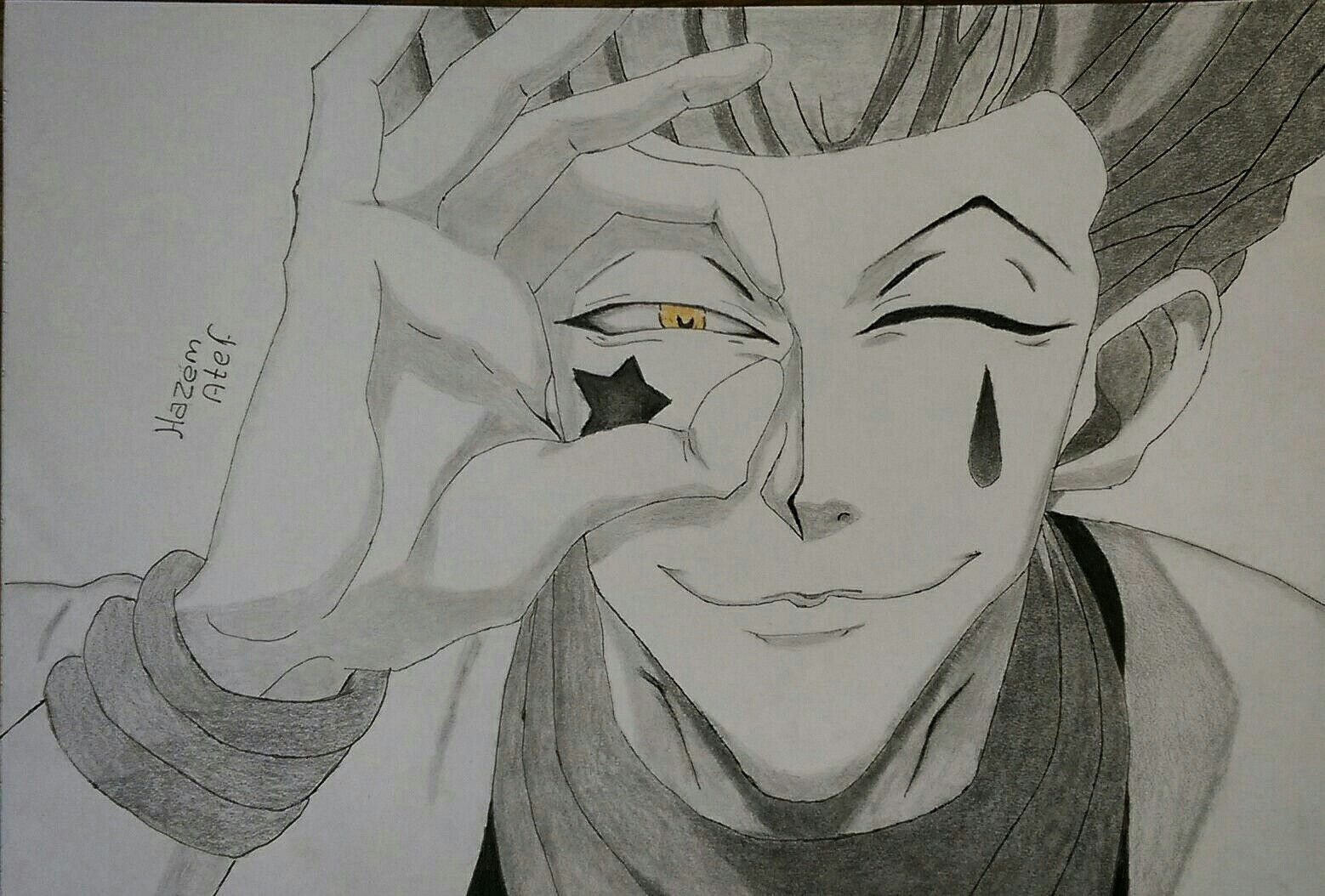 Hisoka The Magician Hisoka Hxh Hunterxhunter Anime Drawing