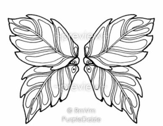 coloring book printable color pages digital coloring pages adult Angel Wings Drawings coloring book printable color pages digital coloring pages adult butterfly wings fairy wing template