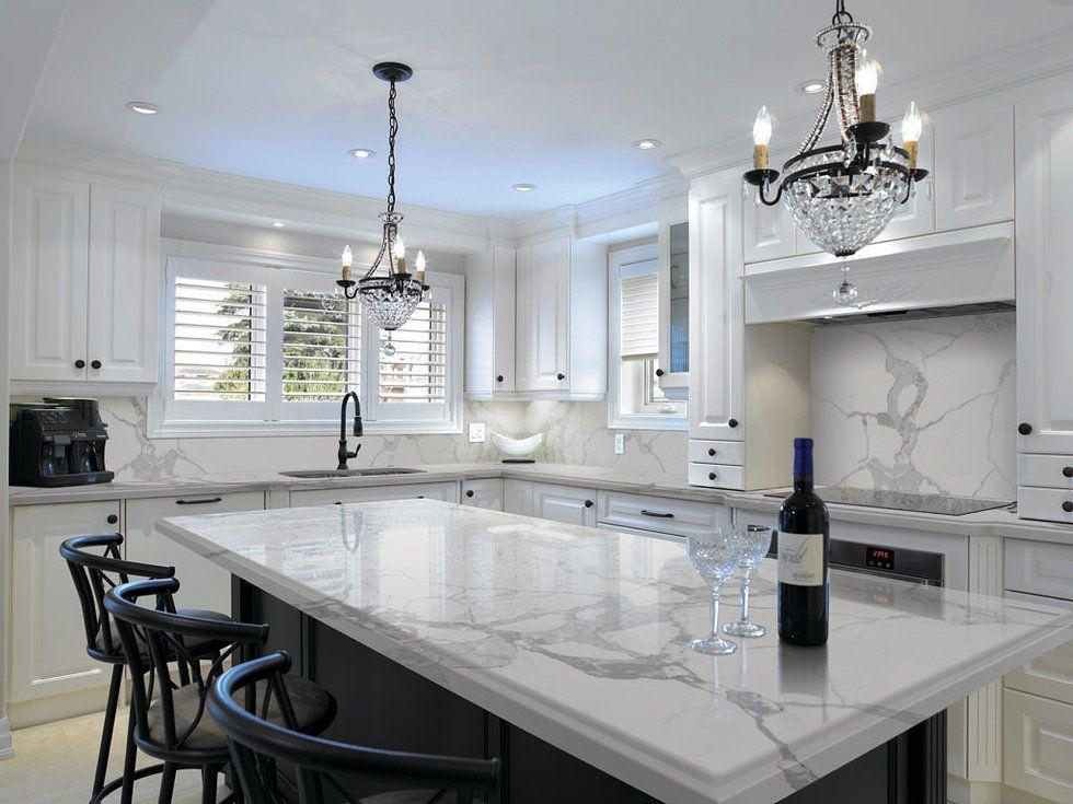 Best Image Result For Calacatta Verona Cheap Kitchen Remodel 400 x 300