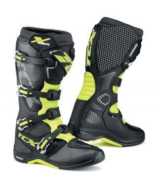 TCX offers its X-Helium boot for off-road riders seeking a more budget-conscious alternative to the Italian brand's full-zoot Comp Evo boot.