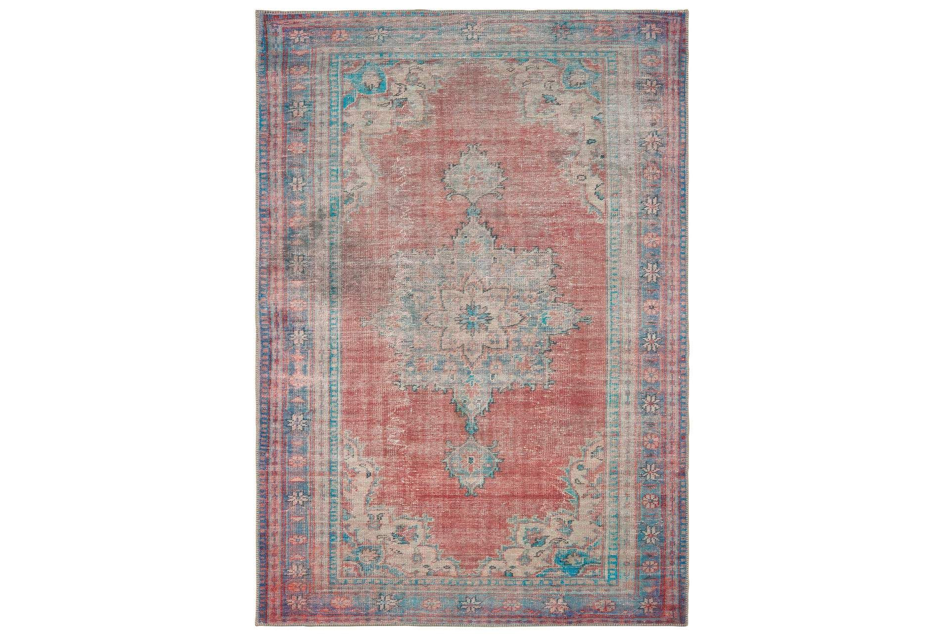 Rug Archer Distressed Red Blue Abstract 295 Rugs Red Blue Large Rugs