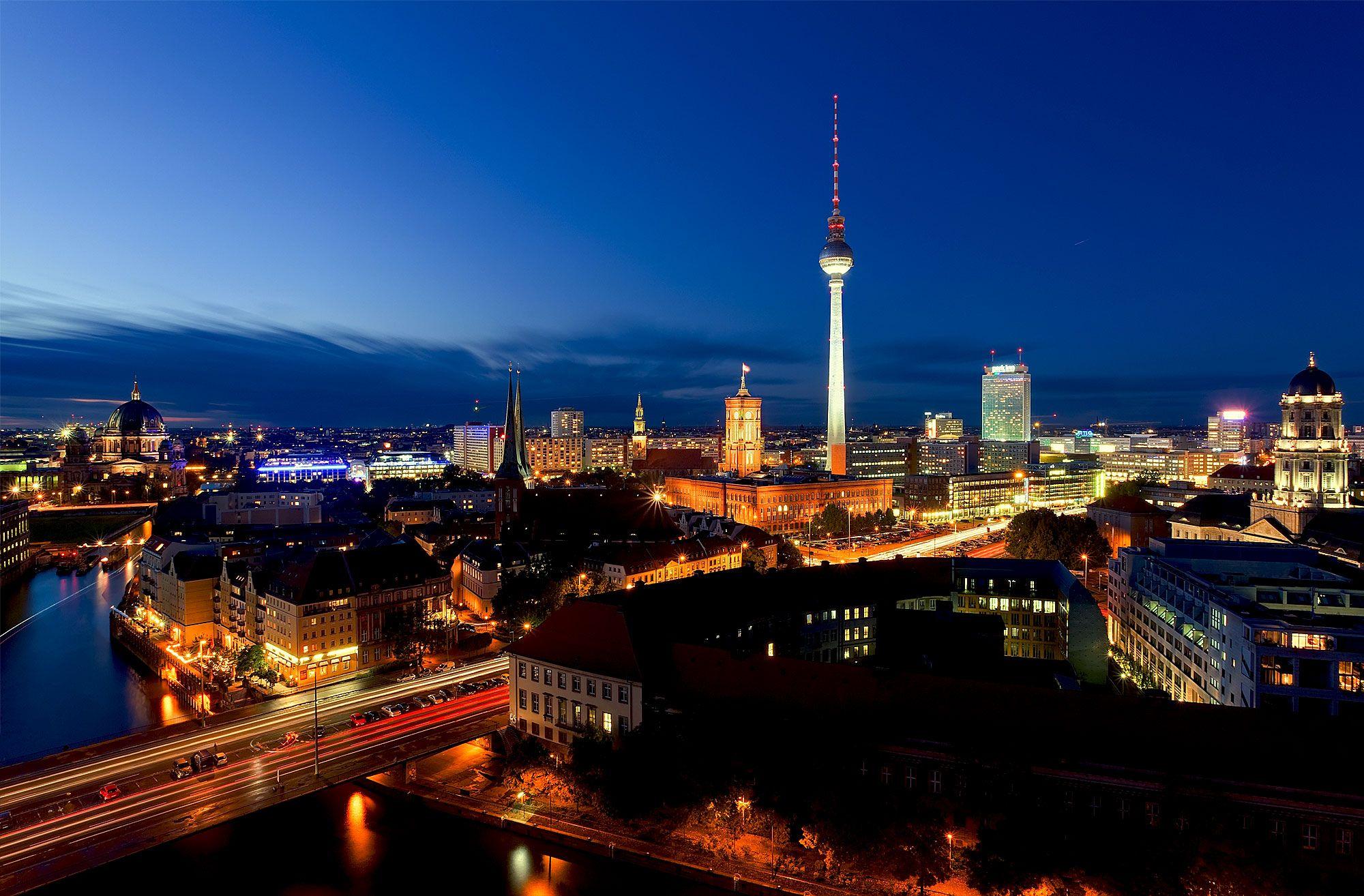 Berlin Berlin Berlin Berlin City City Skyline