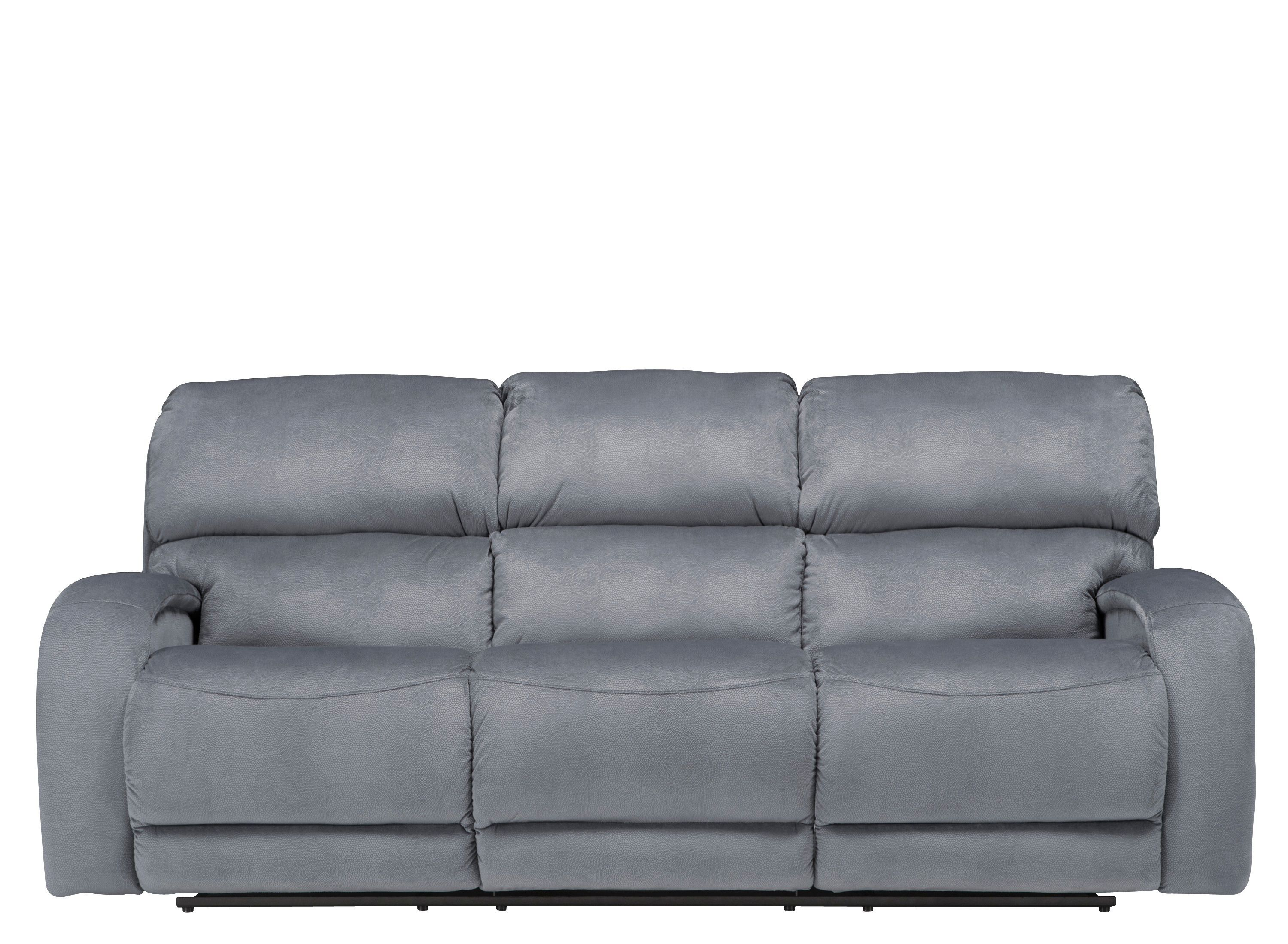 Kelley Microfiber Power Reclining Sofa | Families Will Love This Kelley  Microfiber Power Reclining