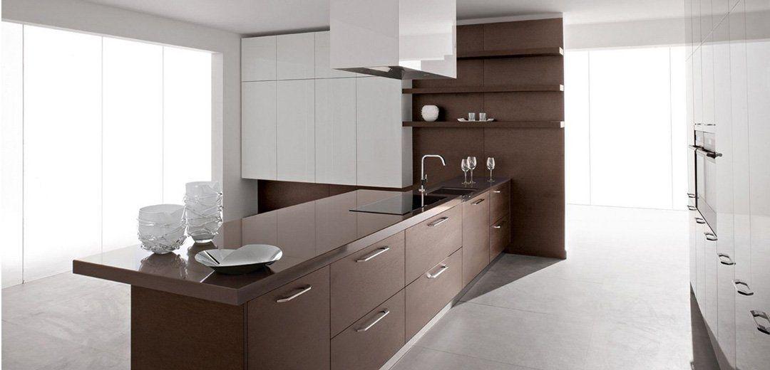 100 idee di cucine moderne con elementi in legno Cucine