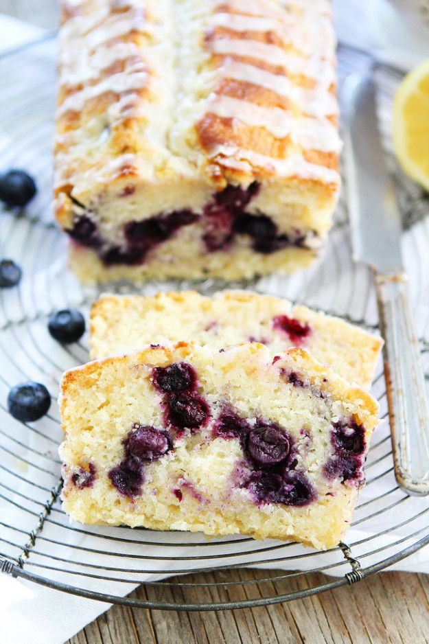 Lemon Blueberry Loaf Cake | 31 Things You Need To Eat In July