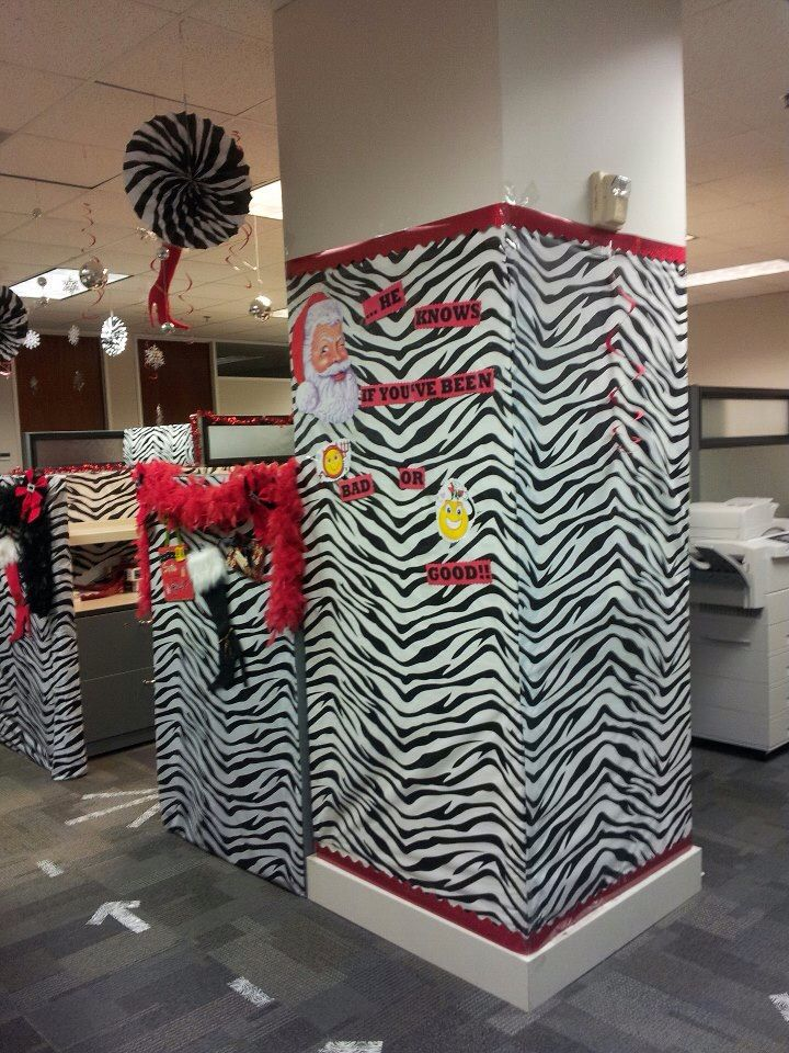 Naughty Or Nice Holiday Cubicle Decorations Christmas