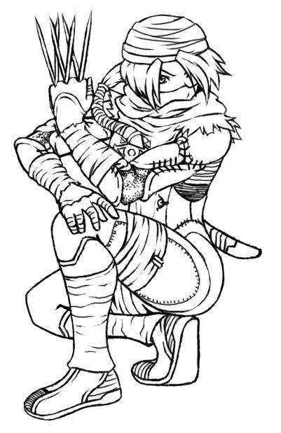 Sheik Lineart by AIBryce | Art, Coloring pages, Sheik