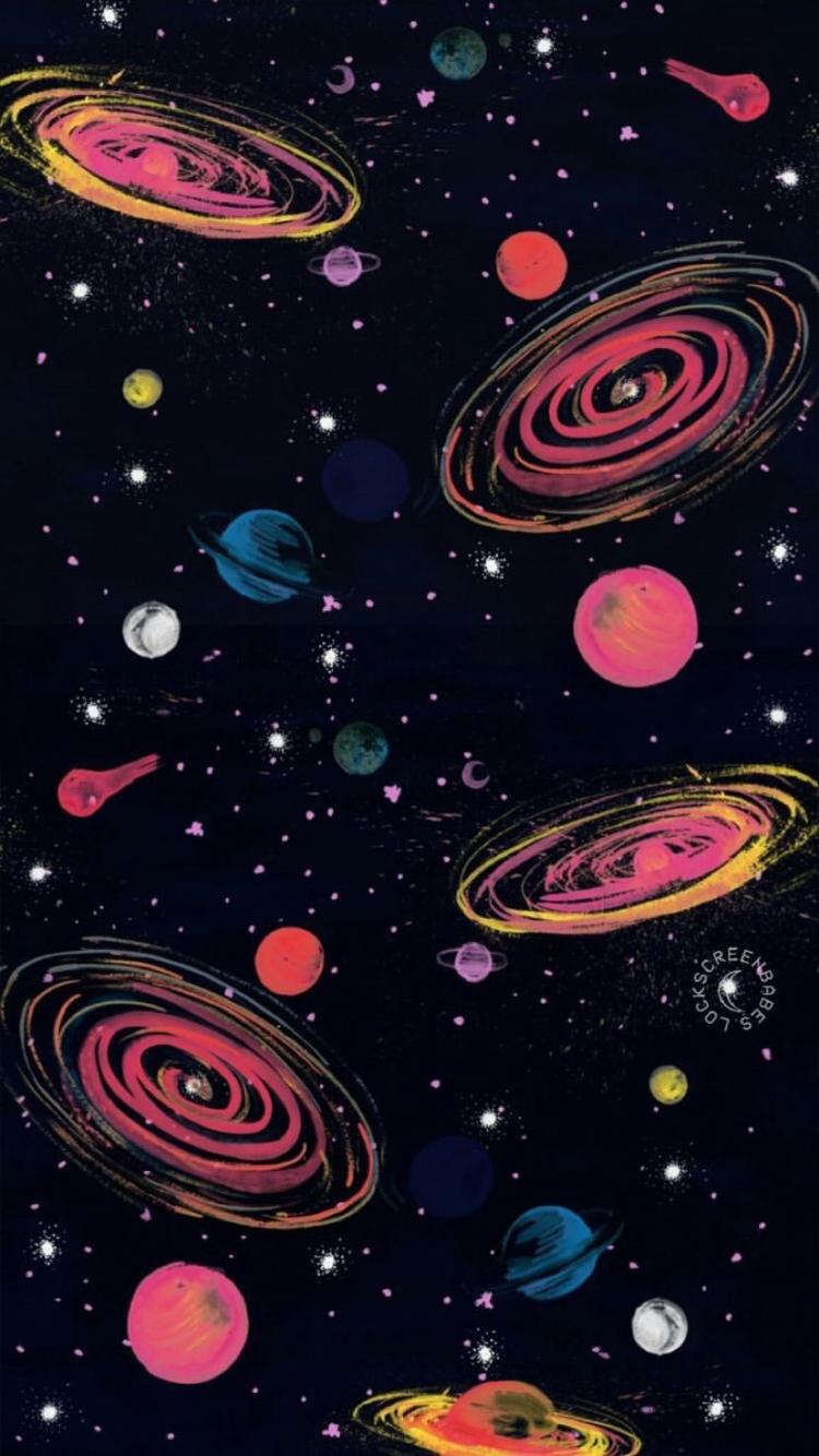 Pin Oleh Frisca Amelia Di Hfhu Galaxy Wallpaper Fotografi Abstrak Ilustrasi