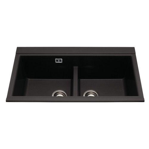 86cm x 51cm Double Bowl Inset Kitchen Sink | Ishi Galley | Pinterest ...