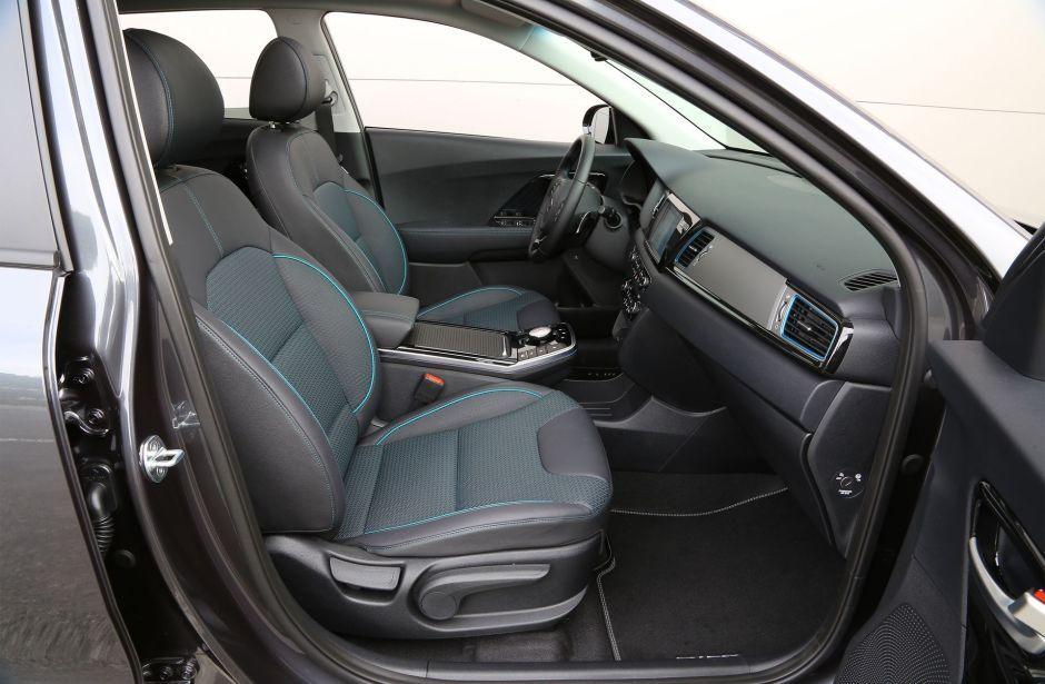 Kia E Niro Interieur Ford Mustangs Electrique Photos