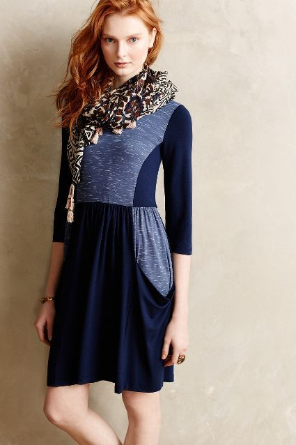 ON SALE Anthropologie Patchworked Panel Dress #anthrofave