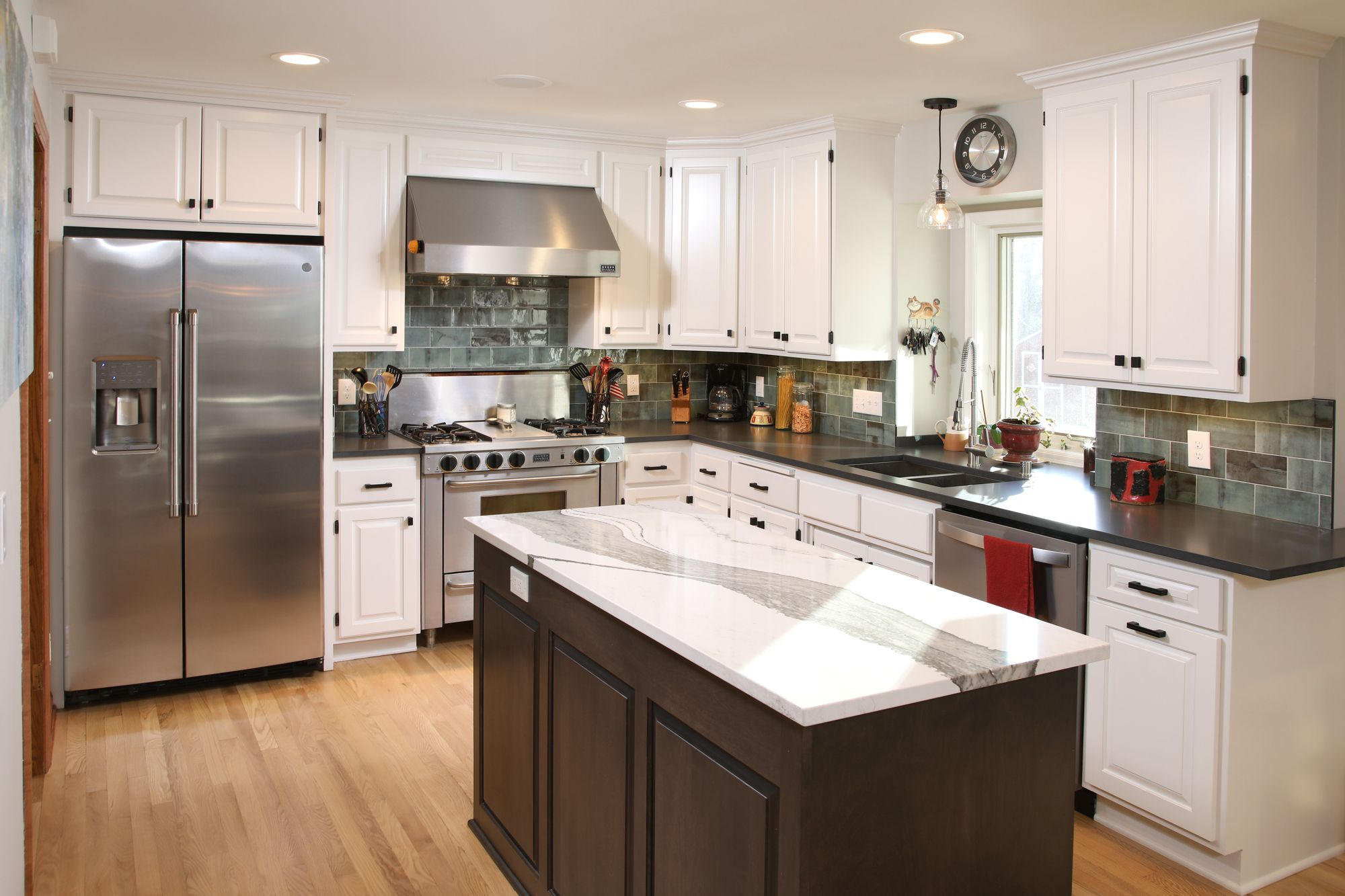 pin by new spaces on kitchen remodeling ideas kitchen remodel custom cabinets building design on kitchen remodel timeline id=15159