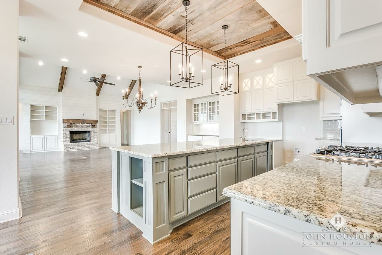 John Houston Homes Light Fixtures Ceiling Amp Coordinating Island Color First Time Home