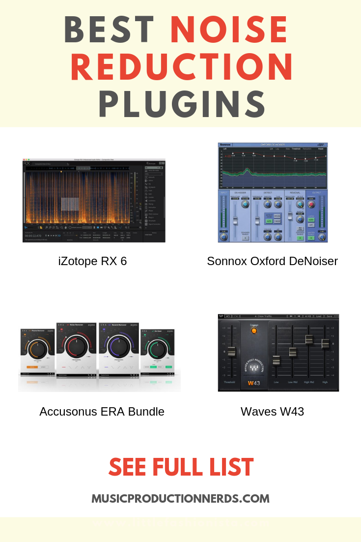 The best noise reduction plugins can clean up hissy and grungy
