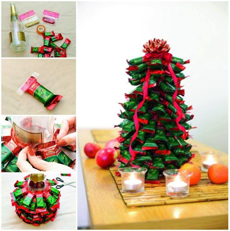 Chocolate Christmas Tree Unique Christmas Trees Christmas Diy Christmas Crafts