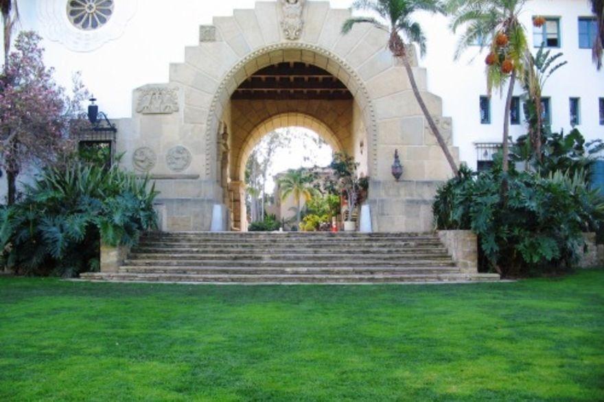 Santa Barbara Court House Gardens